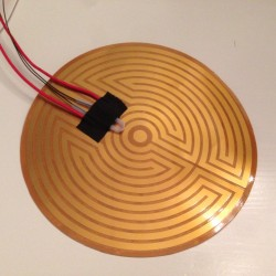 Round Heated Bed 160mm