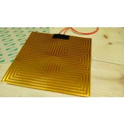 Kapton Flexible heater 23cm x 23cm