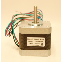 Wantai NEMA17 42BYGHW609 stepper motor Flat Shaft
