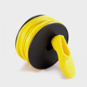 Recreus FilaFlex Yellow 2.85mm 3D Printer Filament